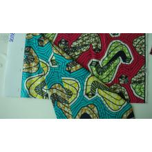 2015 vente chaude cire africaine imiter tissu imprimé