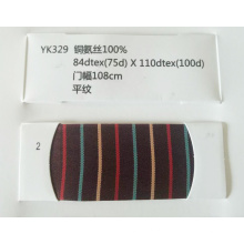 Alta qualidade 100% Cupro tecido baixo brilhante para forro de vestuário