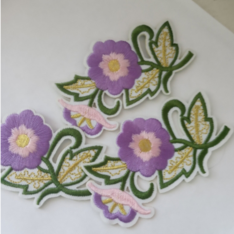 Flower Patches Embroidery