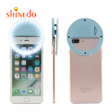 Easy to carry Usb Rechargeable Fill Light  Live Clip-on led selfie ring light Phone
