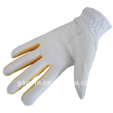 Hot sale /wholesale colored leather golf gloves