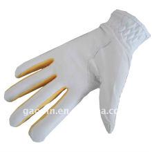 Горячая продажа /оптовая продажа цветные кожаные перчатки для гольфа