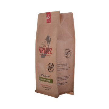 Flatbotten Eco Paper Compostable Coffee Bag