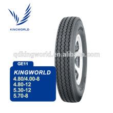 4.80/4.00-8 4PR 6PR rápido pneu do reboque