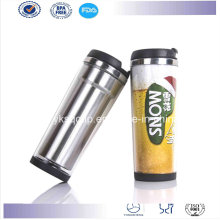 Starbucks of Stainless Steel Inner Plastic Outer Coffee Travel Mug/Tumbler with Paper Insert