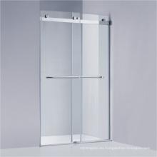 Pantalla deslizante de la ducha de Frameless con el hardware 304 # SUS (A-KW021-D)