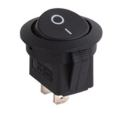 Round Rocker Switch w / led azul 12V