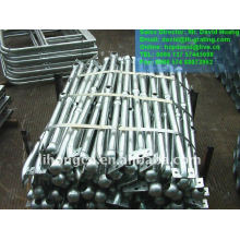 galvanized industrial steel metal handrails stanchions