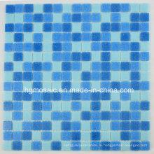 Стеклянная мозаика Синяя плитка для бассейна Withdot Mosaico