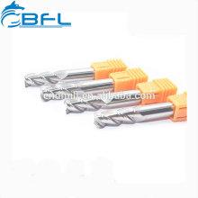 Cortador de trituração de BFL / endmill da flauta do carboneto 3 de Changzhou para a liga de alumínio