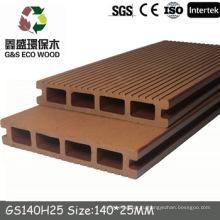 NEW! Пустотелая доска для настила wpc, деревянный пластиковый композитный настил, напольное покрытие из ПВХ