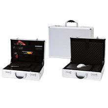 17-Zoll-Laptop-Aluminium-Aktentasche für Männer