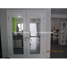 Double interior mirror door with elegant looking
