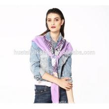 Accesorio de moda para Chica Sombrero y Viscos Lattice Big Square Scarf