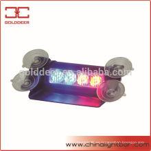 Ley aplicación uso Visor Led azul y rojo luz estroboscópica