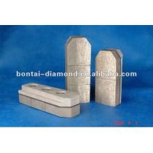 Abrasivos de polimento de diamante para concreto, pedra, alvenaria