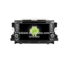 Quad core android, 7-zoll-kapazitiven bildschirm android auto navigationssystem für Mazda CX-5 auto audio auto dvd player