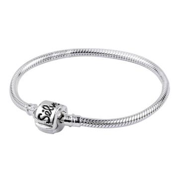 925 Silver Snake Chain Bracelets for European Beads