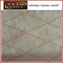 Moda tecido bordado Organza Cortina EDM2046