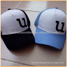 5 panels cool mesh sports caps/baseball hats with high quality made in Guangdong