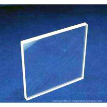 fenêtre en verre saphir laser optique