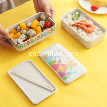 Cute Rabbit Kid Lunch Box Contenedores