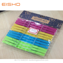 Mini mollette in plastica colorate EISHO FC-1105-1