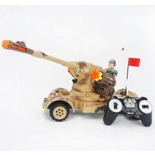 Boy's Presentes Remote Control Camion Militar R / C Toy