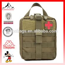 Malote médico militar do saco dos primeiros socorros do saco médico dos primeiros socorros