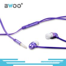 Auriculares internos al por mayor de la manera al por mayor para MP3