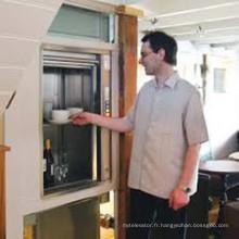 Ascenseur électrique d'ascenseur d'aliments d'acier inoxydable Dumbwaiter