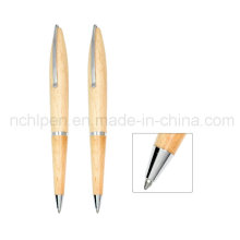 Sharp Design Full and Small Clip Wood Pen Business Pen Stationery