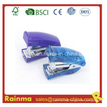 Transparent Bule Mini 24/6&26/6 Stapler, OEM Samll Size Stapler