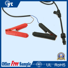 Conector do cabo do conjunto do diodo emissor de luz com grampo de jacaré