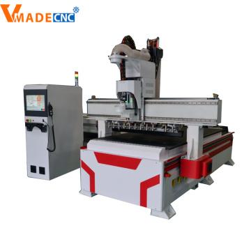 Holztür-Fertigungsmaschinen Holz-CNC-Fräsmaschine