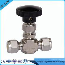 SS316 valve à aiguilles à haute pression