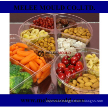 Divided Plastic Containers with Lids Mould
