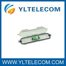 Placa al aire libre Una caja de la terminación de fibra óptica de la base SC / APC impermeabilizan Rohs la conexión fácil