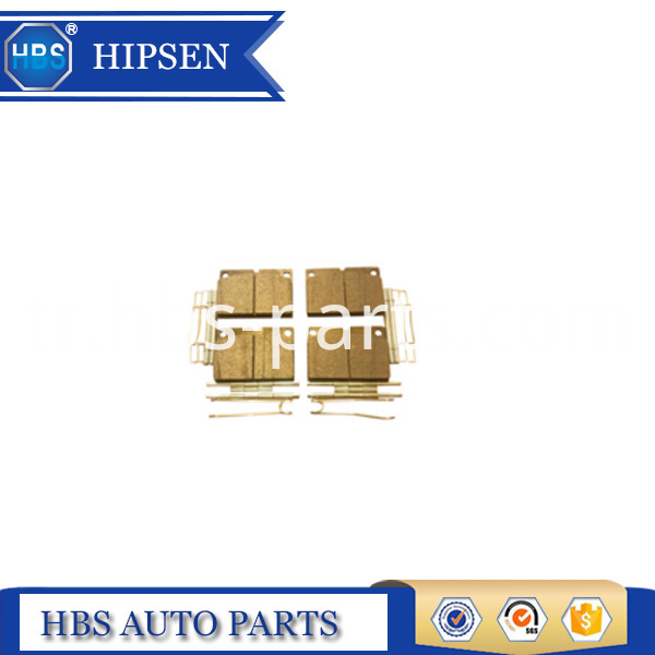 JCB PARTS FASTRAC REAR BRAKE PADS SET