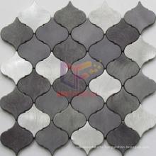 Lantern Shape Aluminium Made Wall Decoration Mosaic (CFA86)