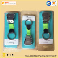 Blister package airline buckle seat belt keychain