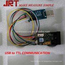Módulo de la distancia de la altura del indicador del laser de los 40m con TTL de USB TT115200bps