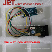 40m Laser Gauge Height Distance Module with115200bps USB TTL
