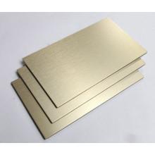 Panneaux composites en aluminium pour la décoration intérieure