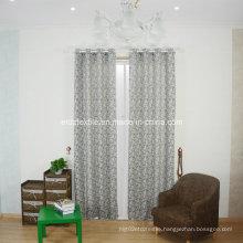 2016 European Popular Linen Touching Jacquard Window Curtain