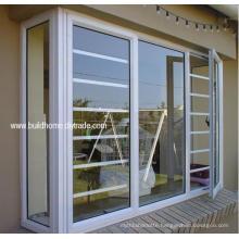 Security Burglar Proof Double Glass Aluminium Windows with Best Price
