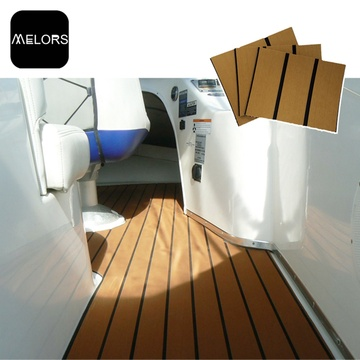 Melors Teak Decking Boards Synthetische Boot Schwimmböden