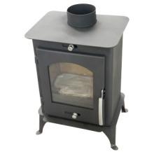 Neuer entworfener Stahl Holz brennender Kamin, Stahlofen (FL007)