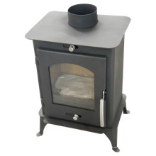 Nuevo diseño de acero chimenea de leña, estufa de acero (FL007)