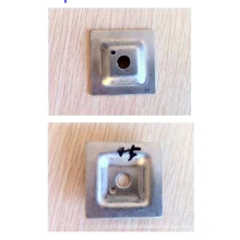 Stainless Steel Metal Grating Fasteners, Square Top Type Clips